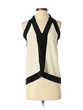 BCBGMAXAZRIA Sleeveless Silk Top Size XXS