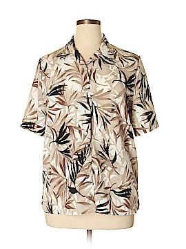 Allison Daley Short Sleeve Blouse Size 14