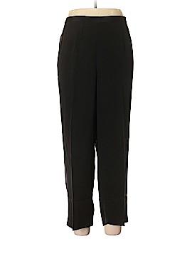 Donna Ricco Silk Pants Size 16 WPetite (Petite)