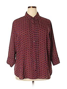 Covington Outlet Long Sleeve Blouse Size 20 - 22 (Plus)