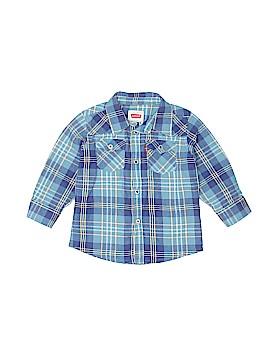 Levi's Long Sleeve Button-Down Shirt Size 18 mo