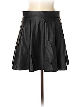 Fashion Union Faux Leather Skirt Size 8