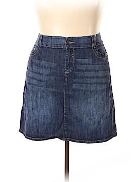 Avenue Jeans Denim Skirt Size 18 (Plus)