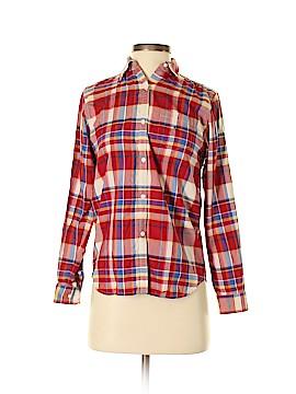 Lauren by Ralph Lauren Long Sleeve Silk Top Size P (Petite)