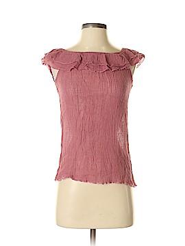 Elan Short Sleeve Blouse Size S