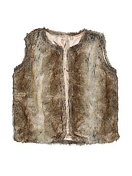 Twenty One Faux Fur Vest Size L