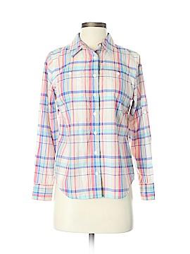L.L.Bean Long Sleeve Button-Down Shirt Size XS (Petite)