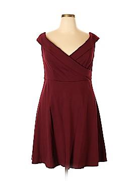 ELOQUII Casual Dress Size 18 (Plus)