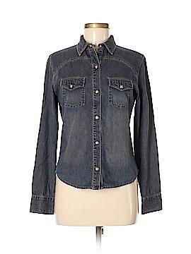 Express Jeans Long Sleeve Button-Down Shirt Size M