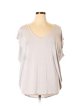 PREMISE Short Sleeve Top Size 1X (Plus)