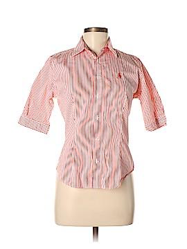 Ralph Lauren Sport Short Sleeve Button-Down Shirt Size 6