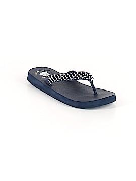 Yellow Box Flip Flops Size 7 1/2