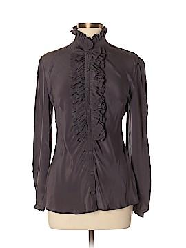 Paul & Joe Sister Long Sleeve Silk Top Size XL (4)