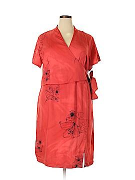 Caribbean Joe Casual Dress Size 1X (Plus)