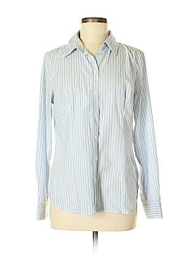 Dalia Long Sleeve Button-Down Shirt Size L