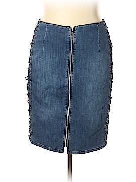 Lane Bryant Denim Skirt Size 20 (Plus)
