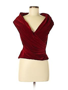 Tadashi Short Sleeve Blouse Size M