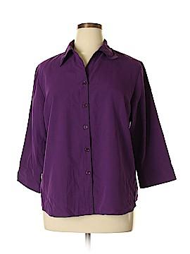 Apparenza 3/4 Sleeve Blouse Size XL