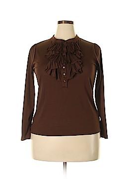Talbots 3/4 Sleeve Blouse Size 1X (Plus)