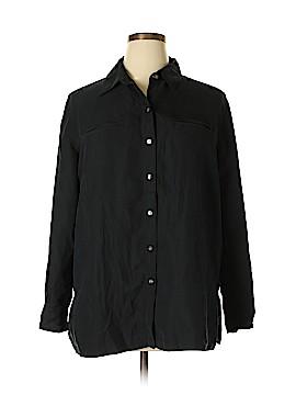 Laura Scott Long Sleeve Blouse Size 16