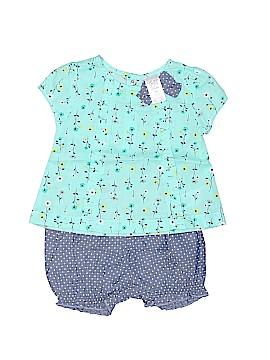 Carter's Short Sleeve Blouse Size 3 mo