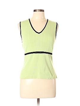 Sarah Spencer Sleeveless Silk Top Size L