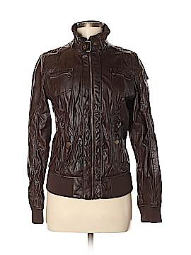 Ci Sono Faux Leather Jacket Size M