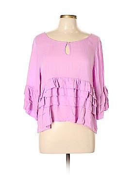Chelsea & Violet 3/4 Sleeve Blouse Size L