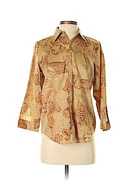 Ralph Lauren 3/4 Sleeve Button-Down Shirt Size S