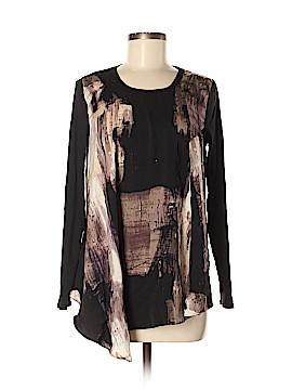 Simply Vera Vera Wang Long Sleeve Blouse Size M