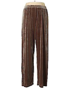 Coldwater Creek Velour Pants Size XXL