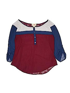 Wishful Park 3/4 Sleeve Blouse Size L