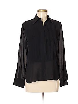 Max Mara Long Sleeve Silk Top Size 6