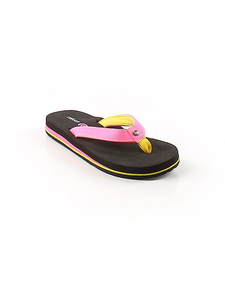 d4b8d52bc94c Cobian Solid Pink Flip Flops Size 12 - 13 Kids - 46% off