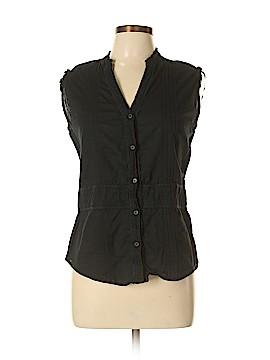 SONOMA life + style Sleeveless Button-Down Shirt Size M