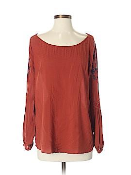 Hinge Long Sleeve Blouse Size S
