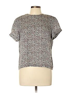 Jones New York Short Sleeve Silk Top Size 12