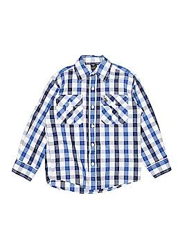 U.S. Polo Assn. Long Sleeve Button-Down Shirt Size 8