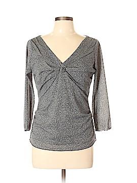 Nine West 3/4 Sleeve Blouse Size L