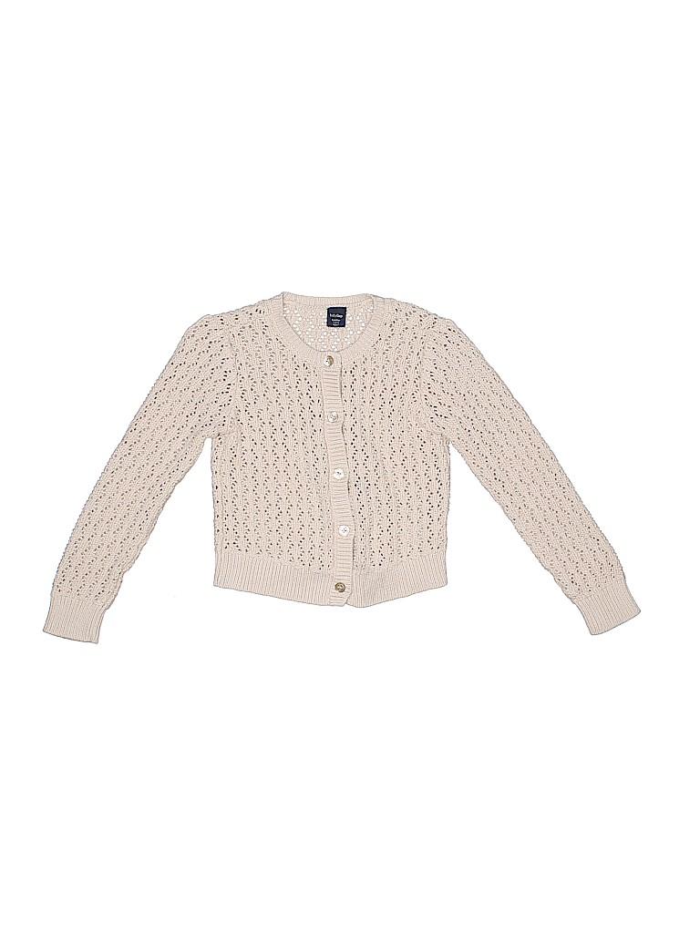 5057701d799d Baby Gap 100% Cotton Crochet Beige Cardigan Size 5T - 66% off