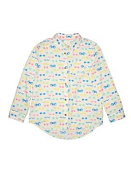 Cat & Jack Long Sleeve Button-Down Shirt Size 14 - 16 Plus (Plus)
