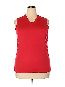 Lands' End Sweater Vest Size 1X (Plus)