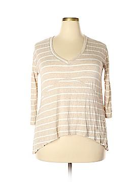 PPLA Clothing 3/4 Sleeve T-Shirt Size S