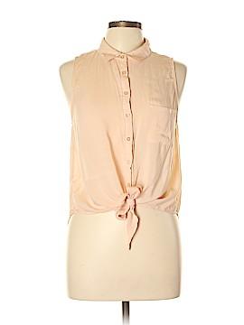 L.O.L. Sleeveless Button-Down Shirt Size L