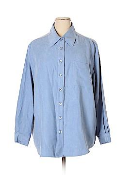 Avenue Long Sleeve Blouse Size 22 (Plus)