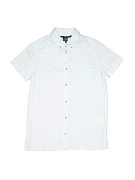 Little Marc Jacobs Short Sleeve Button-Down Shirt Size 10