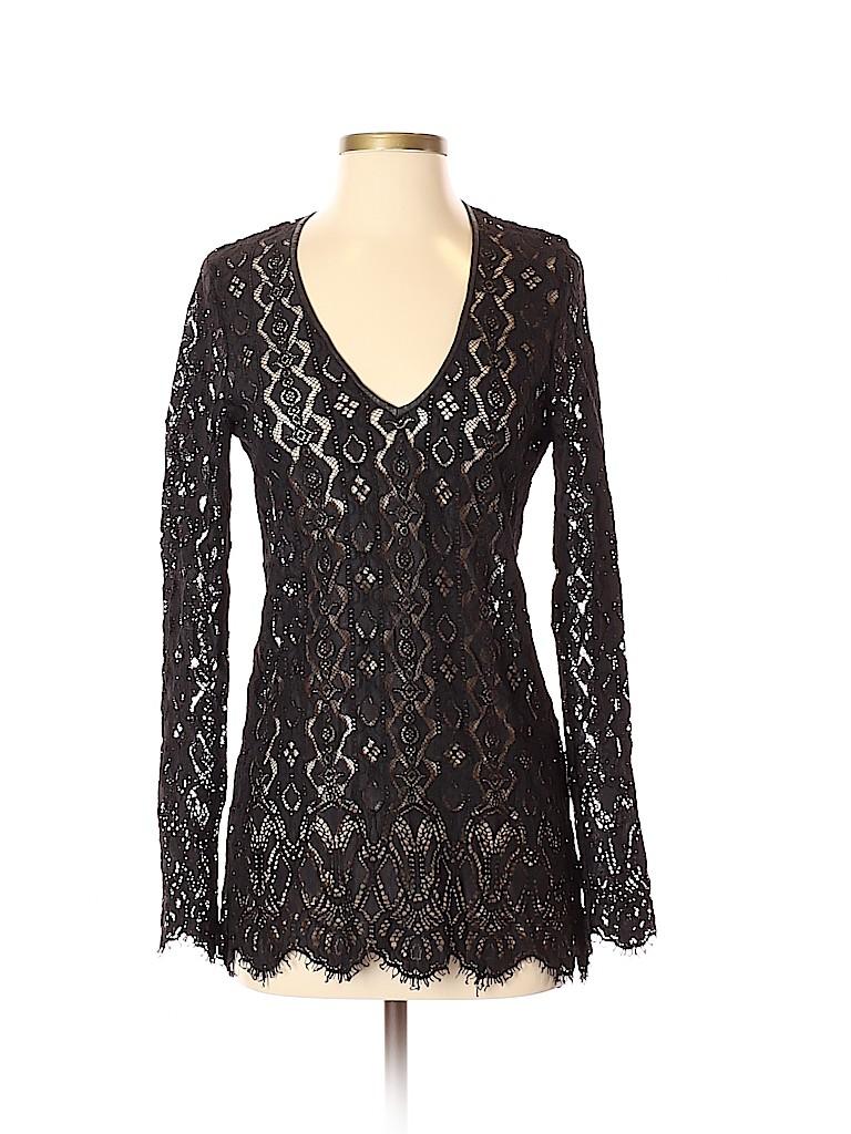 Elie Tahari Women Long Sleeve Blouse Size XS
