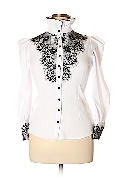 Choies Long Sleeve Button-Down Shirt Size XL