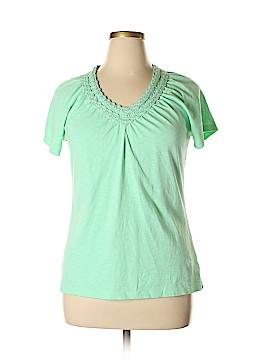 JM Collection Short Sleeve Top Size XL (Petite)