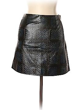 Christopher Kane Leather Skirt Size 10